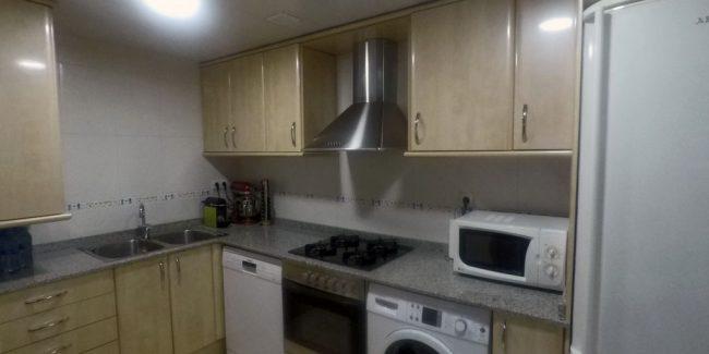Cocina del piso en venta