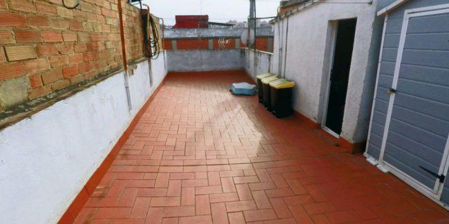 Terraza del piso en venta