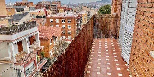 Piso ona Iglesia Mayor terraza 2