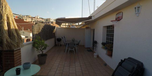 terraza piso en venta santa coloma de gramanet noucasa avenida banús